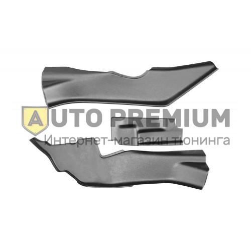 Накладки на ковролин тоннельные (ABS) Nissan Terrano с 2014
